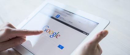 Google en un tablet