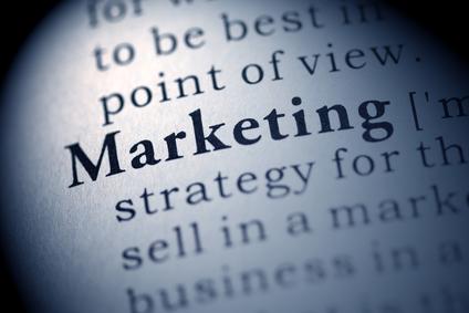 palabra marketing en libro