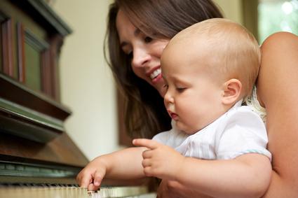 enseñar niño pequeño