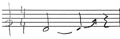 notacion glissando vibrafono