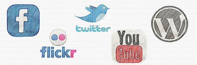 iconos social media