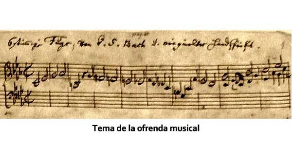 Tema de la ofrenda musical