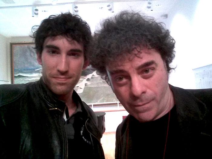 Ismael Palacio y Luca Francesconi