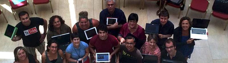 Participantes encuentro social media header