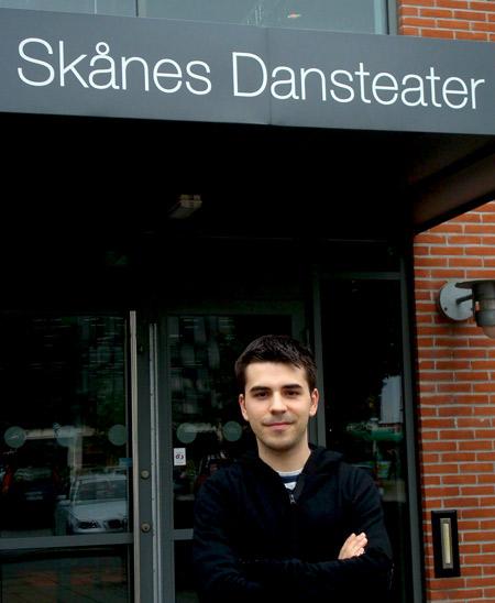 Óscar Escudero en Suecia