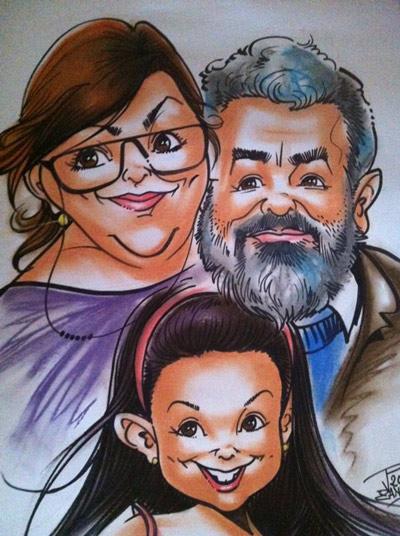 Enrique Blanco dibujo